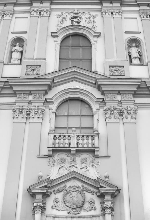 Église de saint Adalbert, Opava, Silésie, République Tchèque/Czechia photos libres de droits