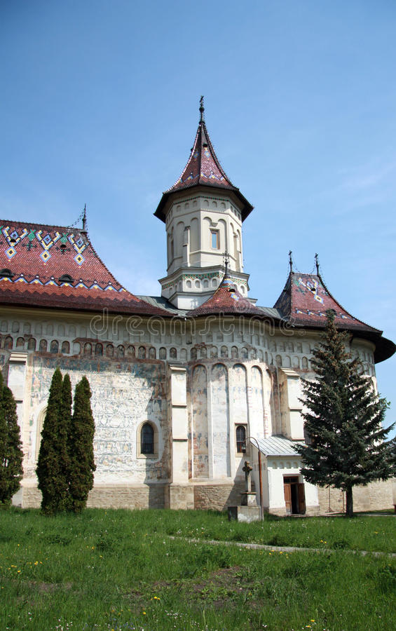 Église de saint George, Suceava, Roumanie images libres de droits