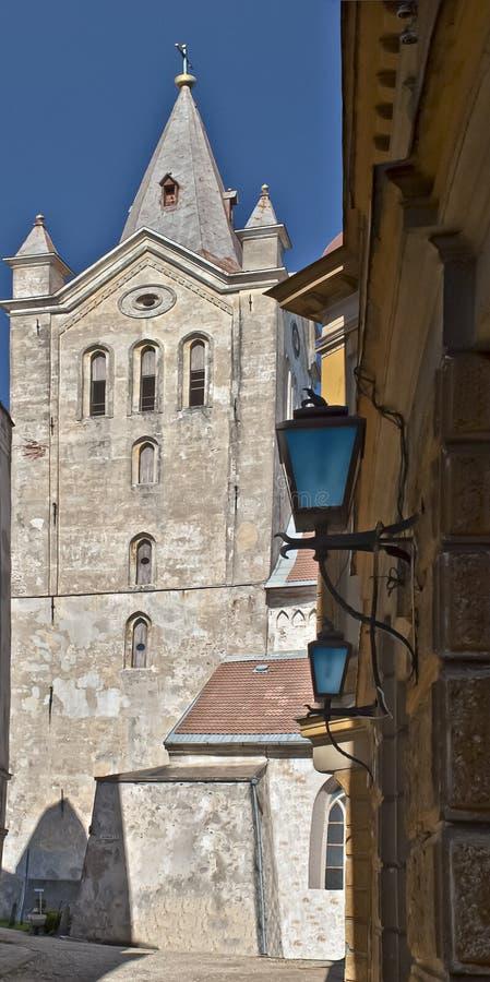 Église de saint John dans Cesis, Lettonie, l'Europe images stock