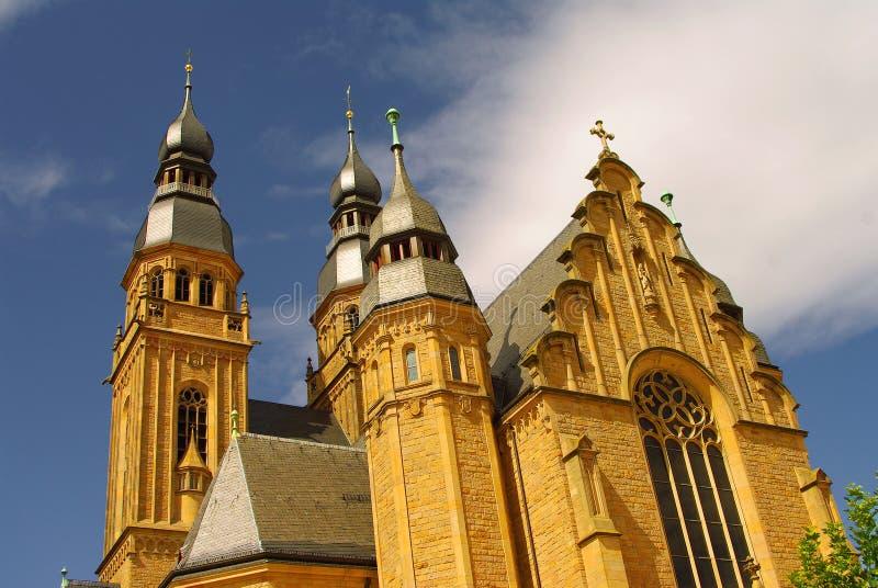 Église de saint Joseph dans Speyer photos stock