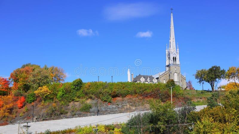 Église de Saint-Michel de Sillery à Québec image libre de droits