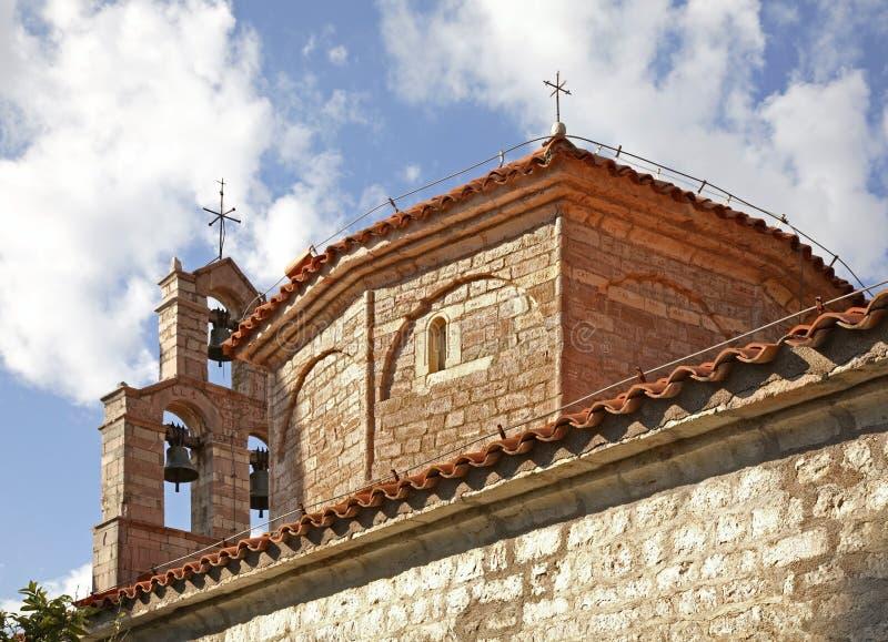 Église de Saint-Nicolas dans le monastère de Praskvica montenegro photographie stock