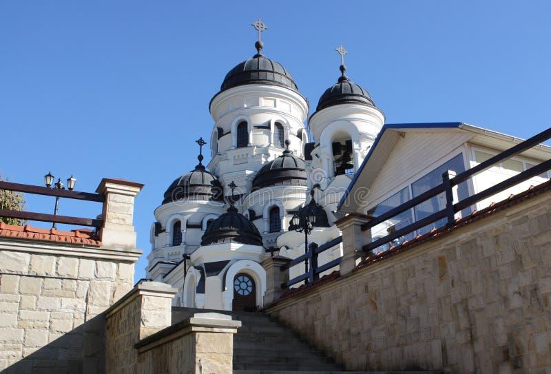 Église de Saint-Nicolas le Wonderworker photographie stock libre de droits