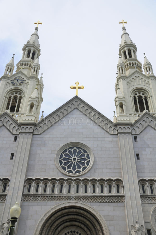 Église de saint Peter et de Paul photographie stock libre de droits