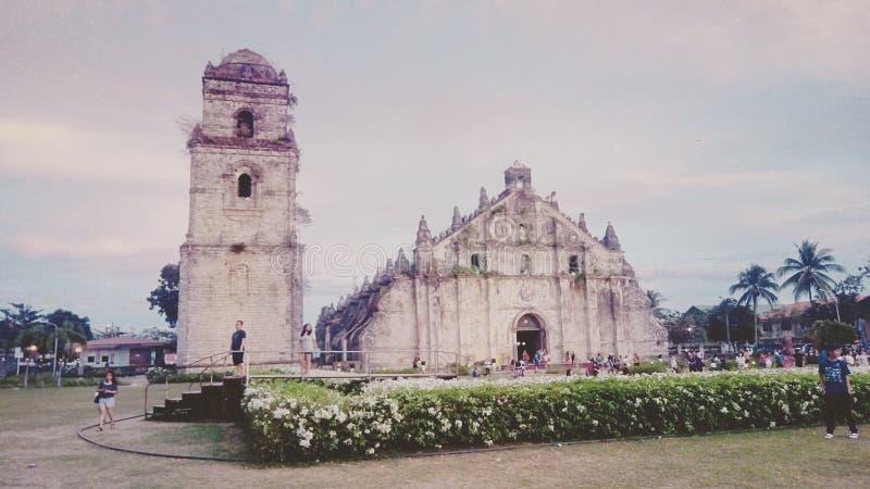 Église de San Agustin photographie stock libre de droits