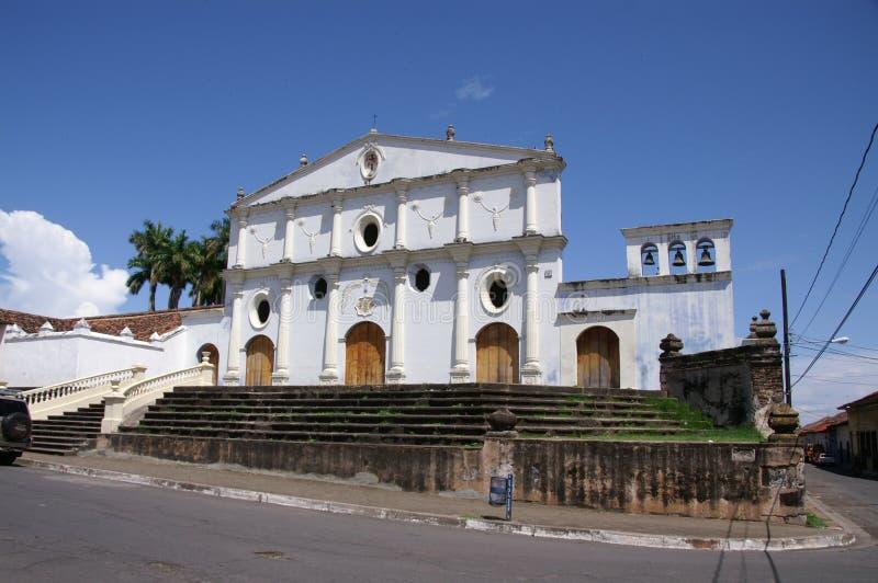 Église de San Francisco à Grenade Nicaragua photographie stock