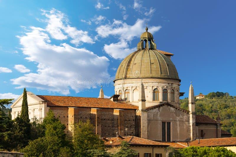 Église de San Giorgio dans Braida - Verona Italy photos stock