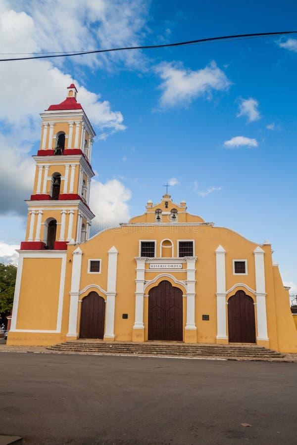 Église de San Juan Bautista dans Remedios, Cu photos libres de droits