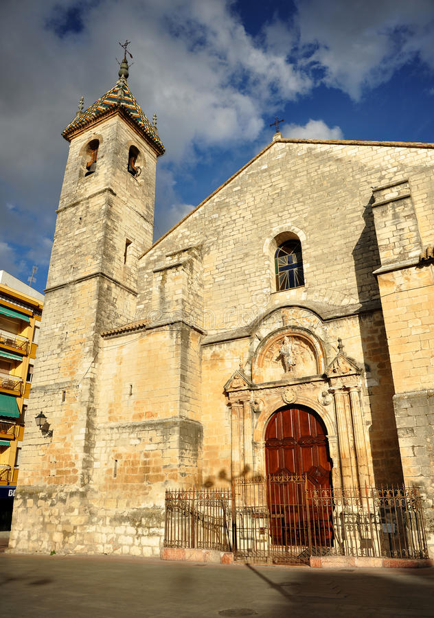 Église de San Mateo province à Lucena, Cordoue, Andalousie, Espagne photo stock