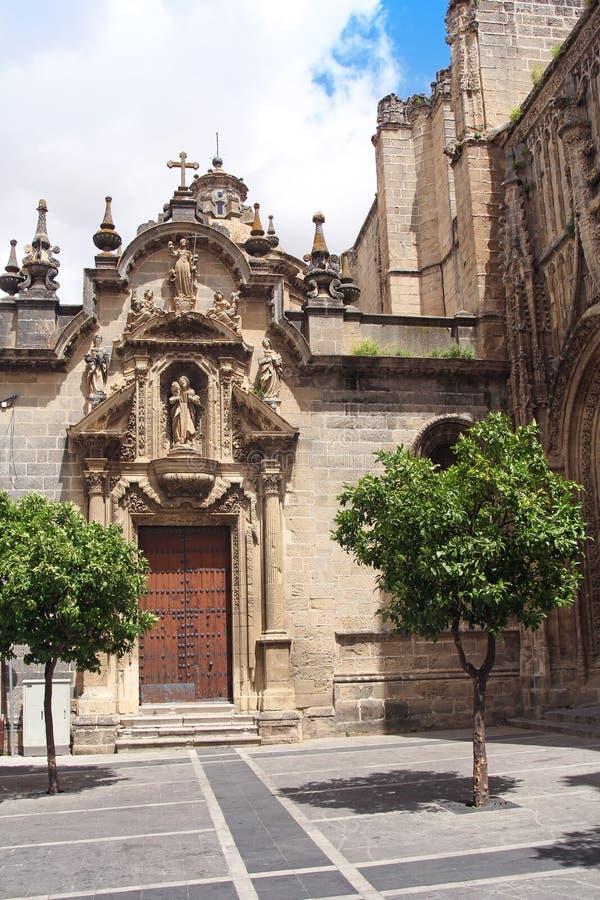 Église de San Miguel à Jerez de la Frontera, Espagne photo stock