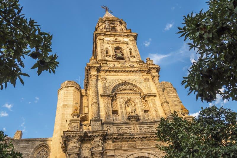 Église de San Miguel, Jerez de la Frontera, Espagne images stock