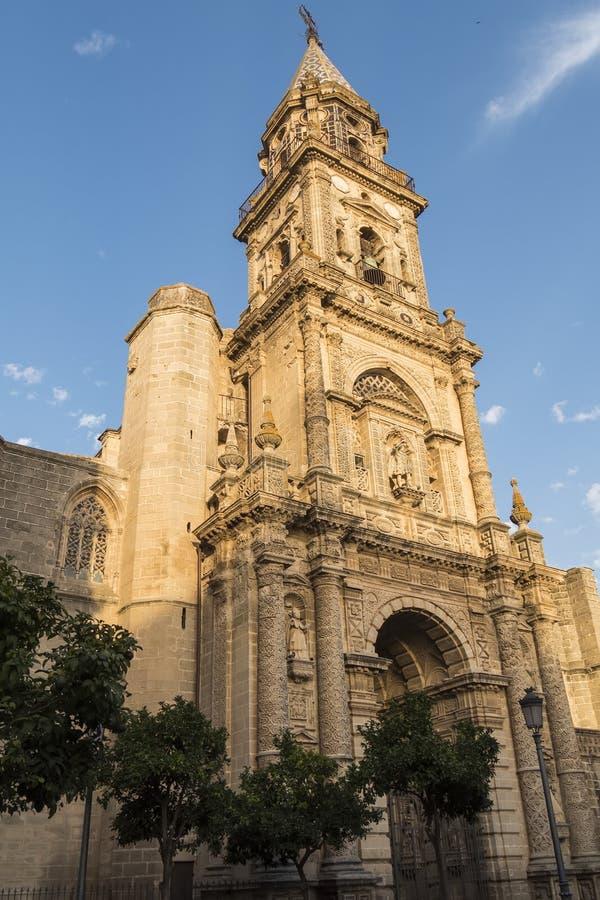 Église de San Miguel, Jerez de la Frontera, Espagne photos libres de droits