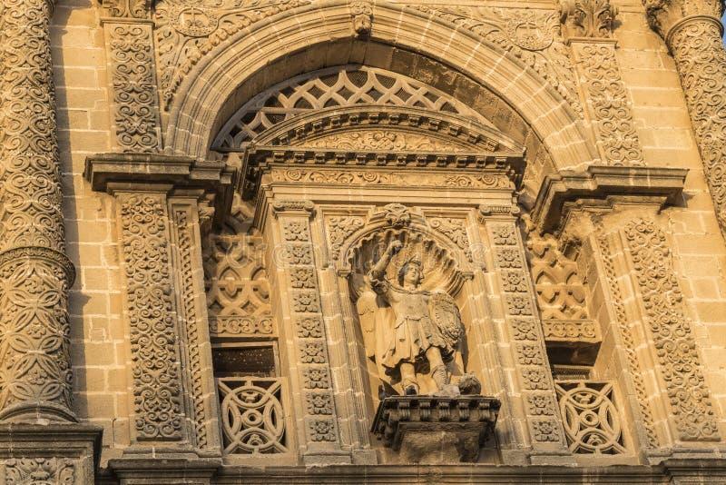 Église de San Miguel, Jerez de la Frontera, Espagne image stock