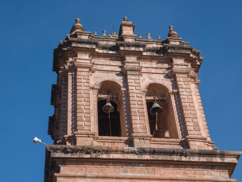 Église de San Pedro dans Cusco, Pérou photos libres de droits