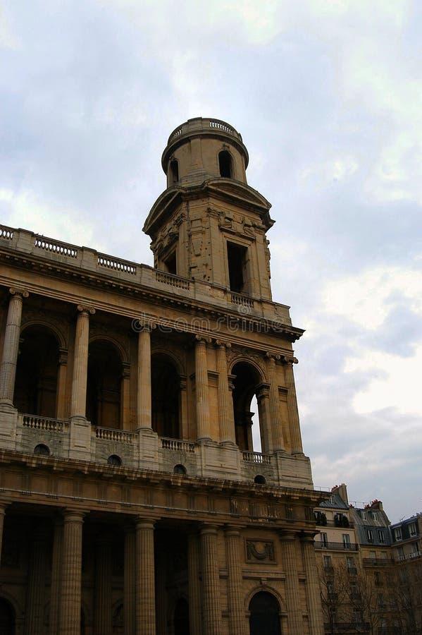 Église de San Sulpice images libres de droits