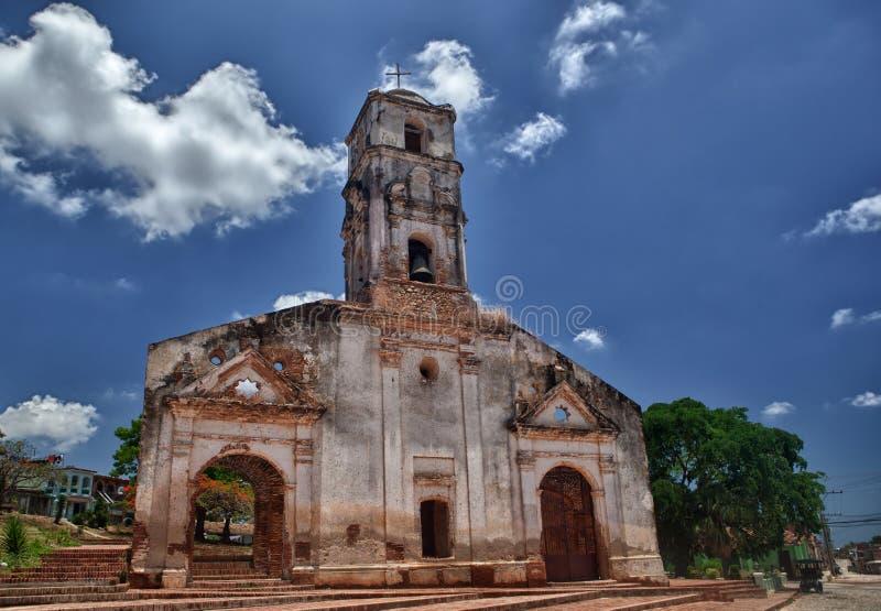 Église de Santa Ana au Trinidad, Cuba. photos stock