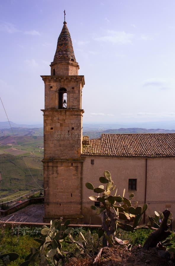 Église de Santa Chiara, Agira image libre de droits