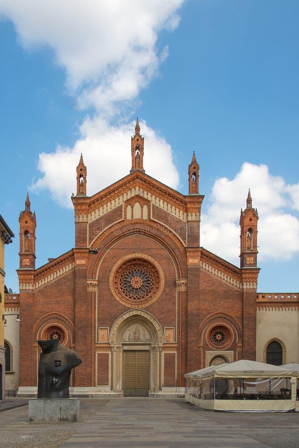 Église de Santa Maria del Carmine Milan images libres de droits