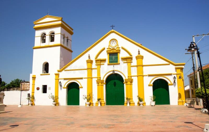 Église de Santo Domingo images stock