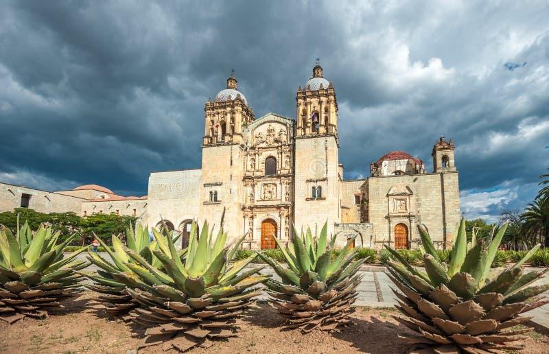 Église de Santo Domingo de Guzman à Oaxaca, Mexique photo stock