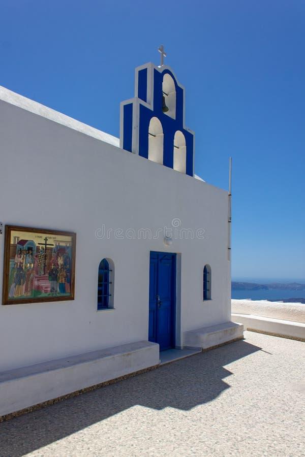 Église de Santorini photos libres de droits