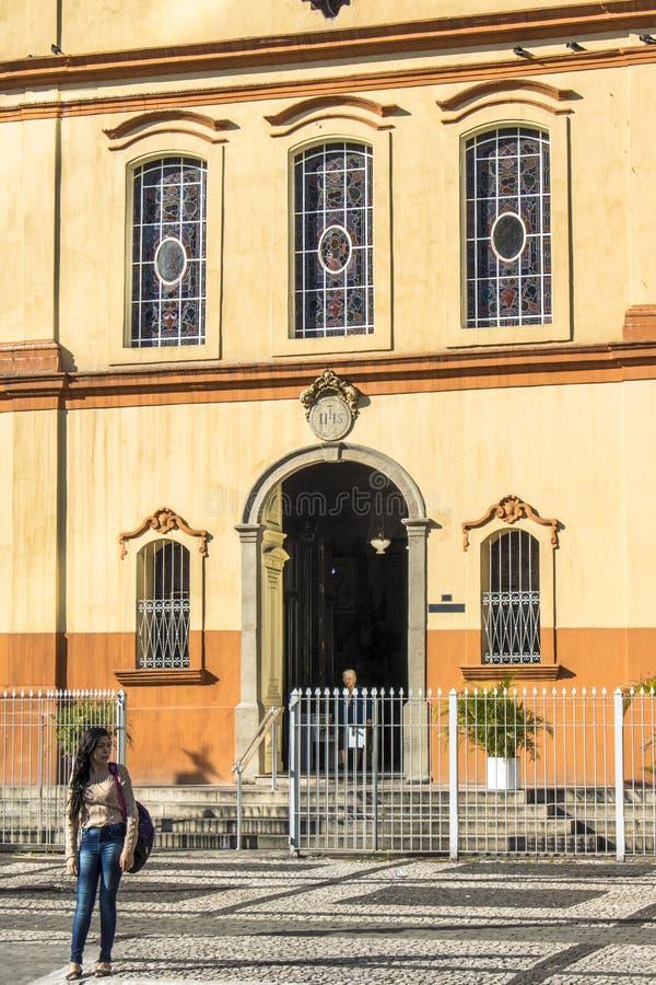 Église de sao Goncalo photographie stock