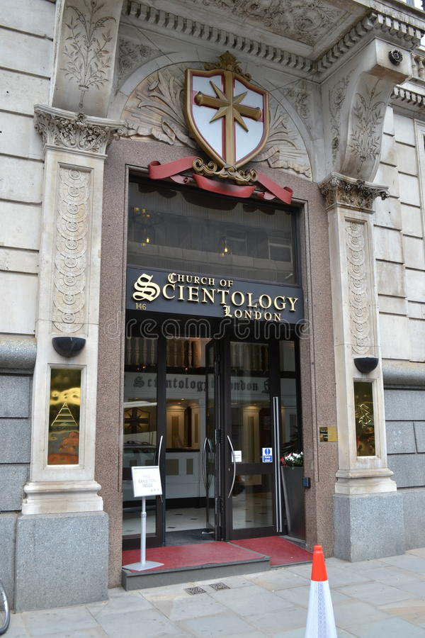 Église de Scientology de Londres images stock
