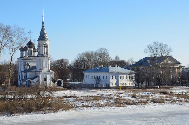 ?glise de Sretenskaya en Vologda, 1731-1735 ans Russie images stock