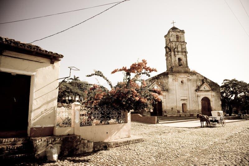 Église de St Anne, Trinidad, Cuba images libres de droits