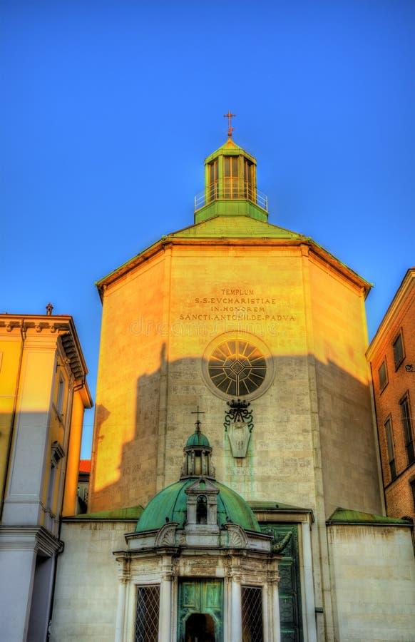 Église de St Antonio di Padova (Paolotti) photographie stock