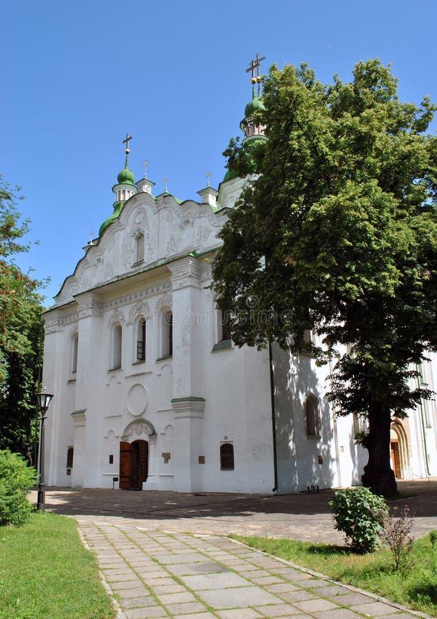 Église de St Cyrille à Kiev photo libre de droits