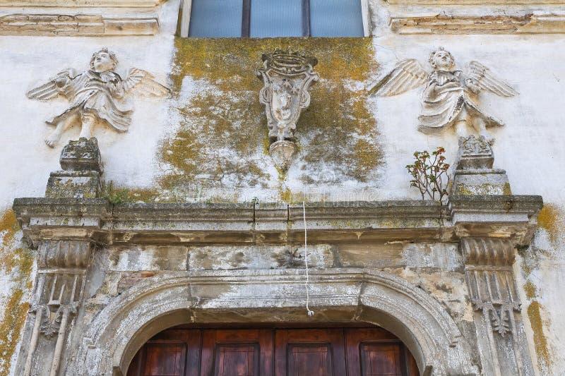 Église de St Filippo Neri. Tursi. Basilicate. L'Italie. images stock