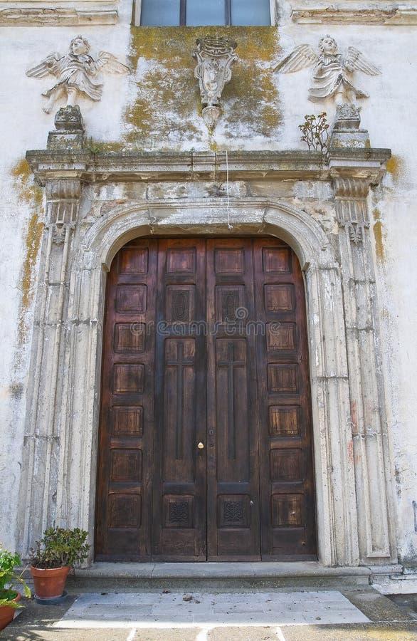 Église de St Filippo Neri. Tursi. Basilicate. L'Italie. image stock