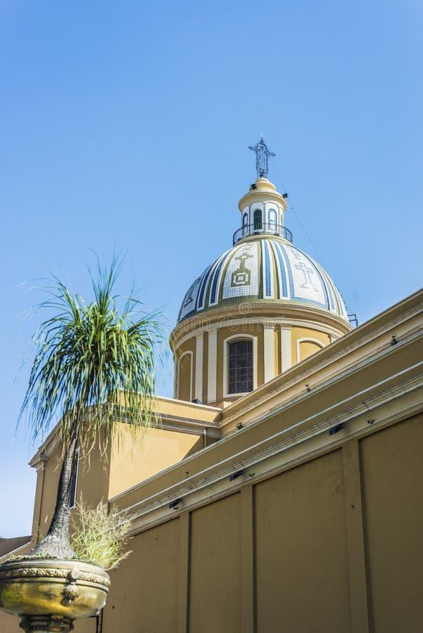 Église de St Francis à Tucuman, Argentine images libres de droits