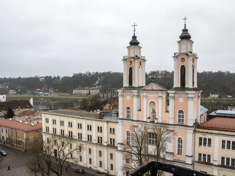Église de St Francis Xavier, Kaunas, Lithuanie photo stock