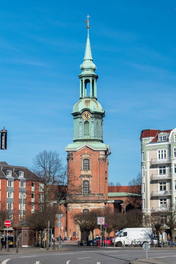 Église de St Georg à Hambourg photo libre de droits