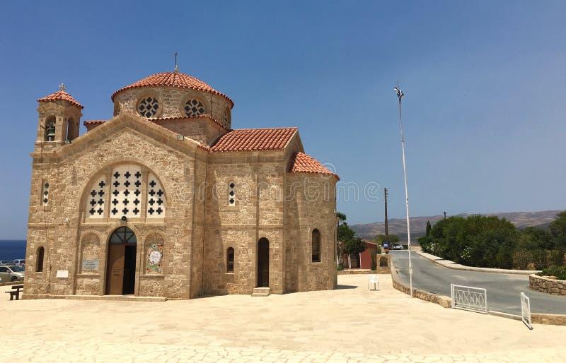 Église de St George en Chypre image stock