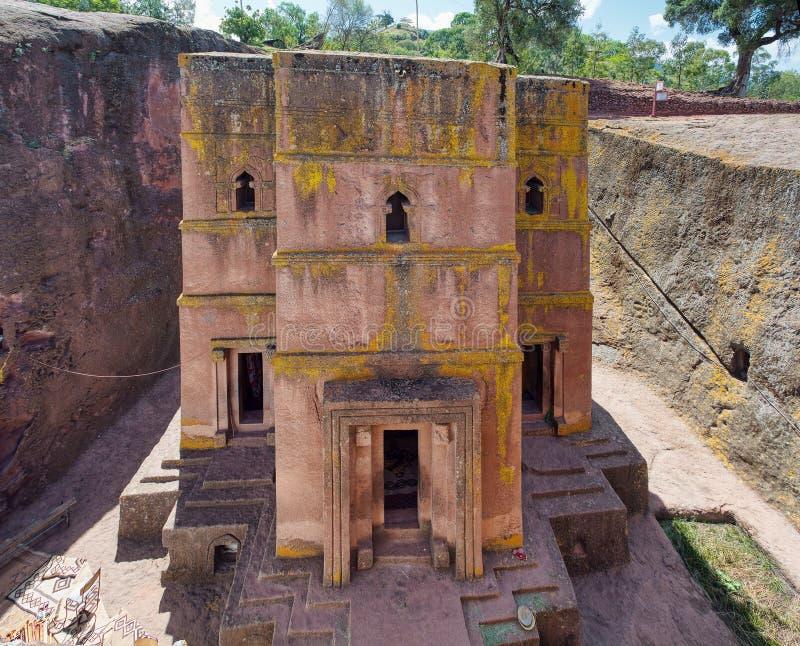Église de St George, Lalibela Ethiopie photo stock