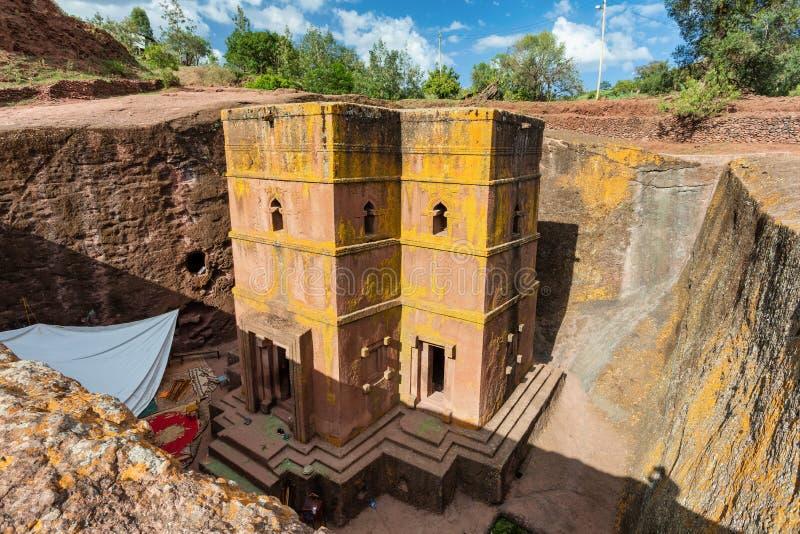 Église de St George, Lalibela Ethiopie photos stock