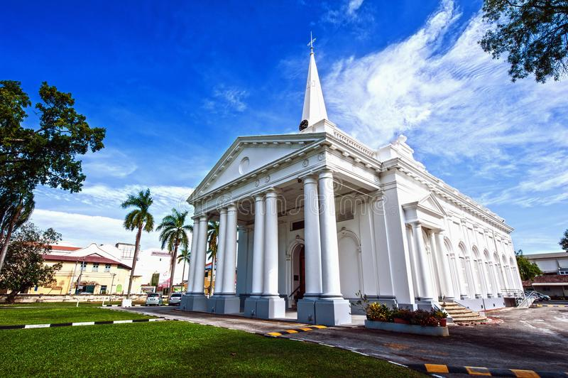 ÉGLISE DE ST GEORGE - PENANG photographie stock