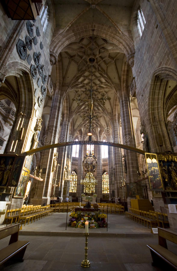 Église de St.Lorenz photo stock