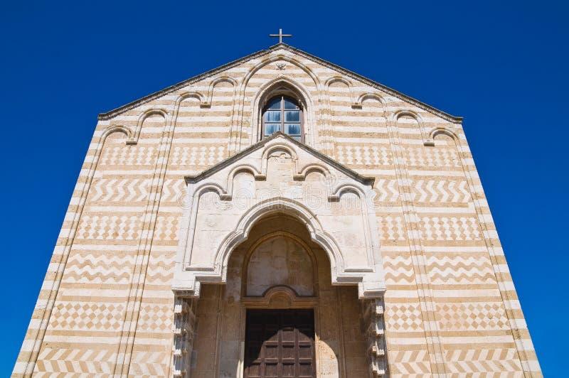 Église de St Maria del Casale. Brindisi. La Puglia. L'Italie. photographie stock libre de droits