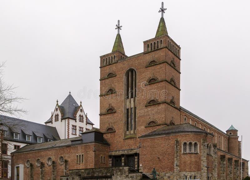 Église de St Mary dans Limbourg, Allemagne images stock