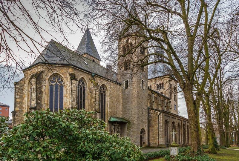 Église de St Mauritz, Munster, Allemagne photo stock