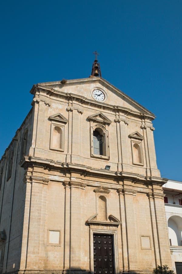 Église de St Michele Arcangelo Castellaneta La Puglia l'Italie photos stock