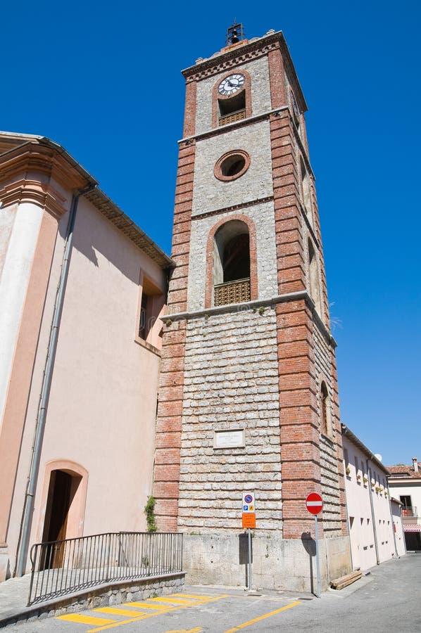 Église de St Michele Arcangelo. Trecchina. Basilicate. L'Italie. images stock