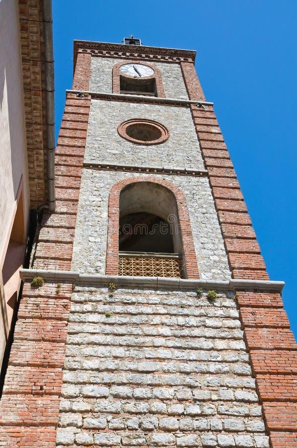 Église de St Michele Arcangelo. Trecchina. Basilicate. L'Italie. photo libre de droits