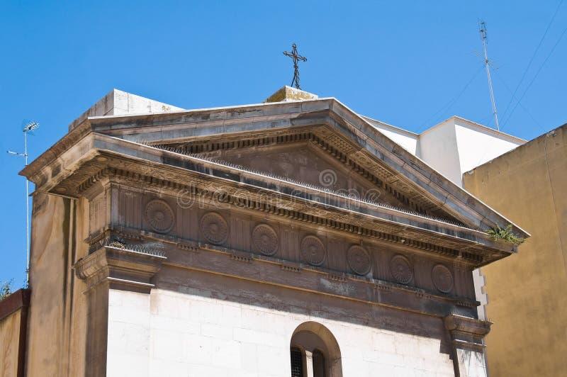 Église de St Michele Barletta La Puglia l'Italie photos stock