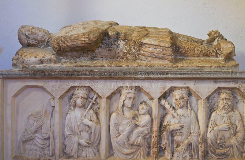 Église de St Nicola dans Plateis. Scalea. La Calabre. L'Italie. image stock