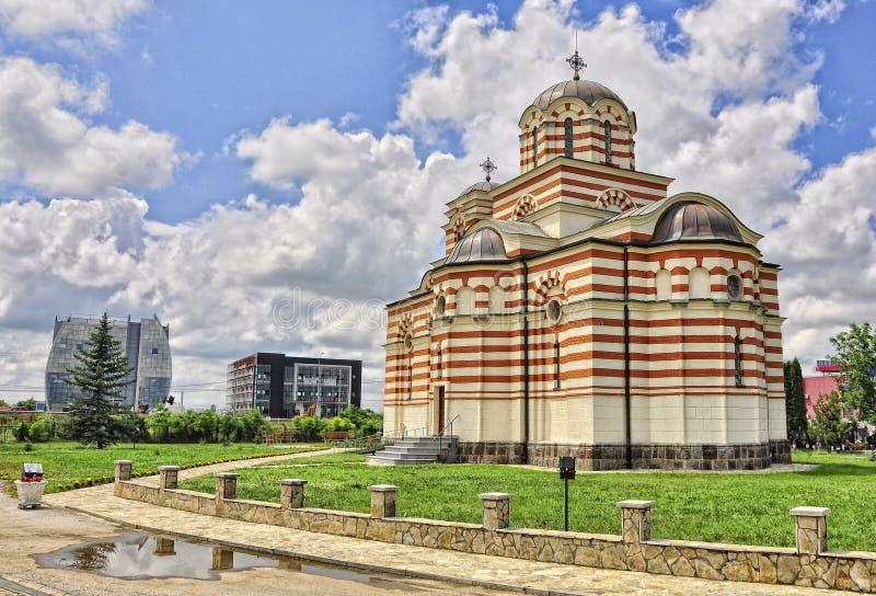 Église de St Parasceva dans Laplje Selo Kosovo, Serbie images stock